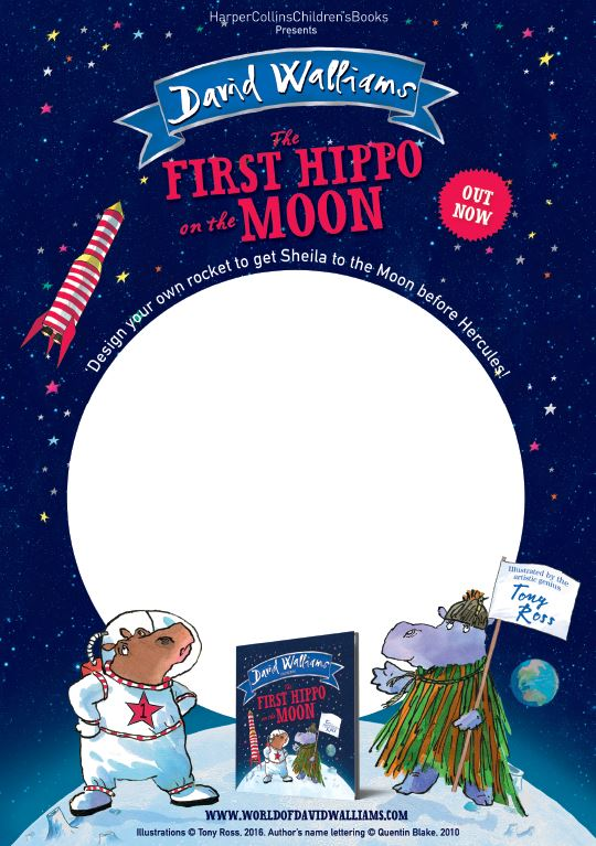 First Hippo on the Moon - Activity Sheet